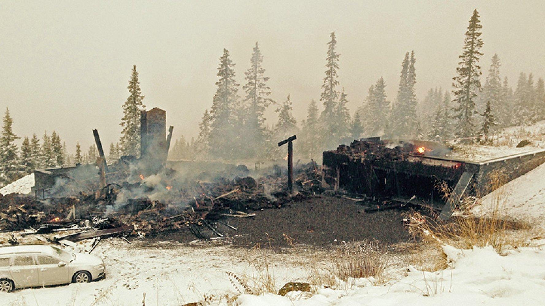 På tide å ta brannsikkerhet på hytta på alvor